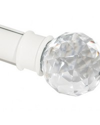 Crystal Finial Cream by