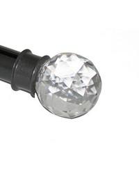 Crystal Finial Gun Metal by