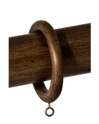 3 3/4 Wood Ring Dark Walnut by