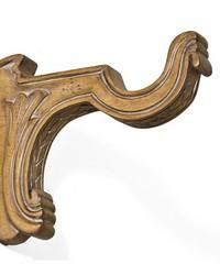 Decorative Cup Bracket Antique Oak by