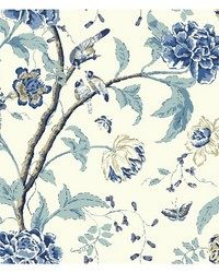Carey Lind Vibe Teahouse Floral Wallpaper by