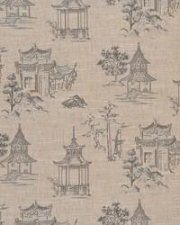 Grey Oriental Fabric  Jerryl Gray