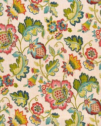 Jacobean Floral Fabric