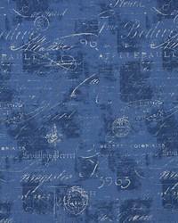 Blue Word Fabrics  Paris Denim