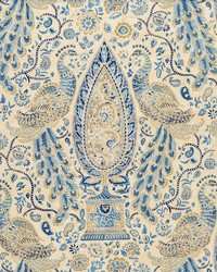 Blue Birds Fabric  Buki Blue