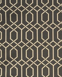 Black Trellis Diamond Fabric  Hotaka Char