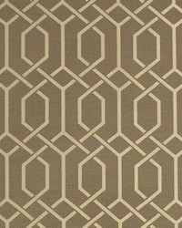 Grey Trellis Diamond Fabric  Hotaka Dove