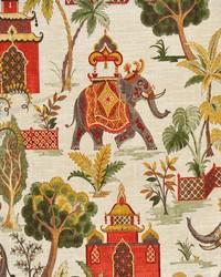 Multi Oriental Fabric  Pyrrhus Traditional