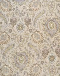 Multi Jacobean Floral Fabric  Sadie Pastels
