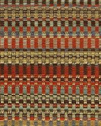 Rust Navajo Print Fabric  Zynga Grande