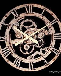 Old Gear Clock by