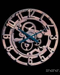 Arabic Gear Clock by