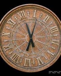 Fleur de Lis Clock by