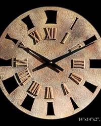 Small Roman Retro Clock by