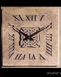 Small Irish Knot Clock by