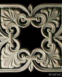 Square Pediment Panel by