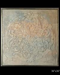 Exhibition Framed Carreran Fresco by