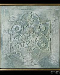 Exhibition Framed Genoan Fresco by