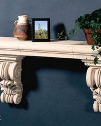 Long Tuscany Shelf Top by