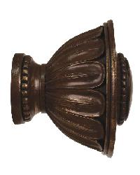 Wilshire Curtain Rod Finial 2 inch by