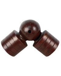 Swivel Socket for 2 Inch Curtain Rod by