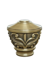 Blakely Urn Antique Brass by