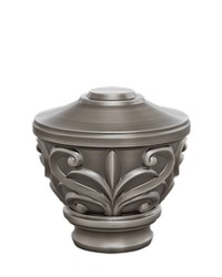Blakely Urn Antique Pewter by