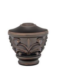 Blakely Urn Iron Copper by