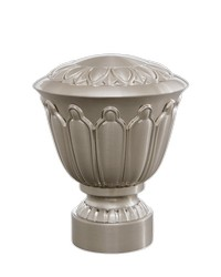 Bellaire Urn Polished Nickel by
