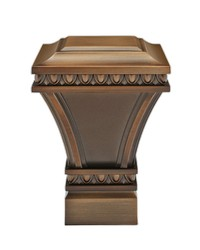Versailles Square Brushed Bronze by
