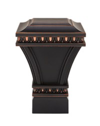 Versailles Square Dark Oil Rubbed Bronze by