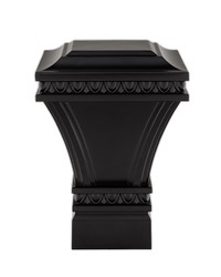 Versailles Square Satin Black by