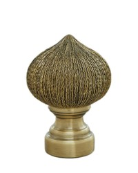 Paloma Onion Antique Brass by