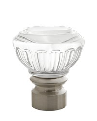 Montclaire Urn Polished Nickel by