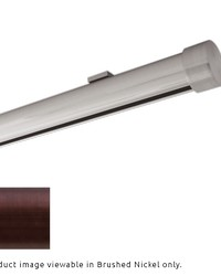 Single Rod Ceiling Clip Low Profile H-Rail Curtain Track Oil Rubbed Bronze by
