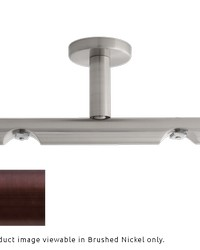 H-Rail Double Ceiling Bracket Oil Rubbed Bronze by  Finestra