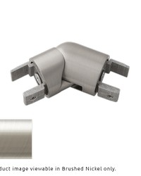 H-Rail Elbow Brushed Nickel by  Finestra