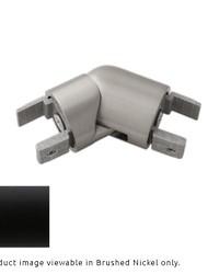 H-Rail Elbow Matte Black by  Finestra