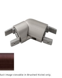 H-Rail Elbow Oil Rubbed Bronze by  Finestra