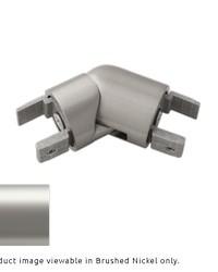 H-Rail Elbow Satin Nickel by  Finestra