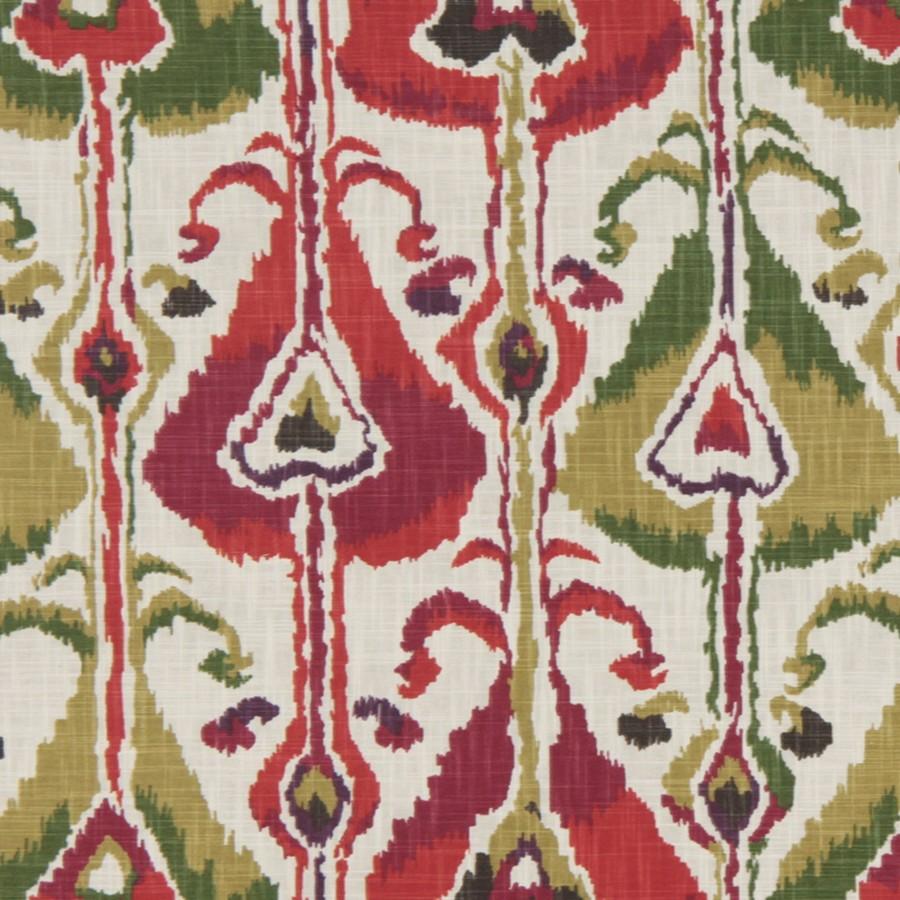 Robert allen fabrics ikat bands fuchsia for Robert allen fabric