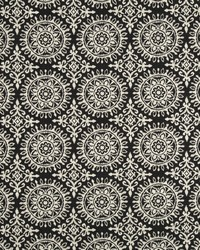 Black Suzani Fabric  Suzani Strie Night Sky