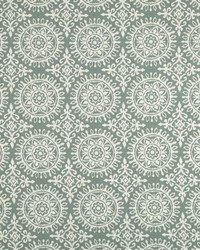 Green Suzani Fabric  Suzani Strie Rain