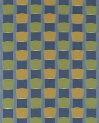 Blue Solid Color Denim Fabric  Able Block Mediterranean