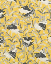 Yellow Oriental Fabric  Swanwood Saffron