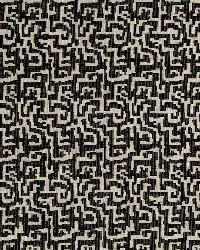 Chenille Maze Onyx by