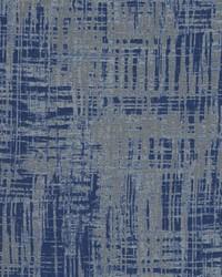 Blue Abstract Fabric  Sarcio Cobalt