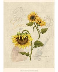 Romantic Sunflower I by