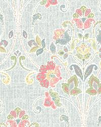 Willow Sky Nouveau Floral by