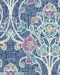 Willow Indigo Nouveau Floral by